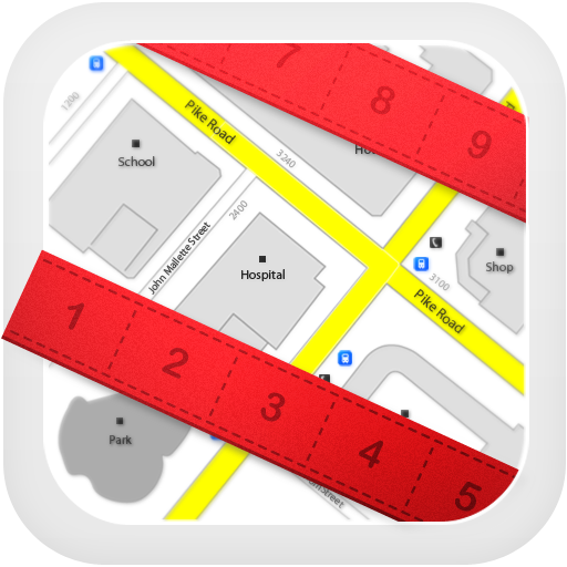 Map Measure - Area and Distance Calculater