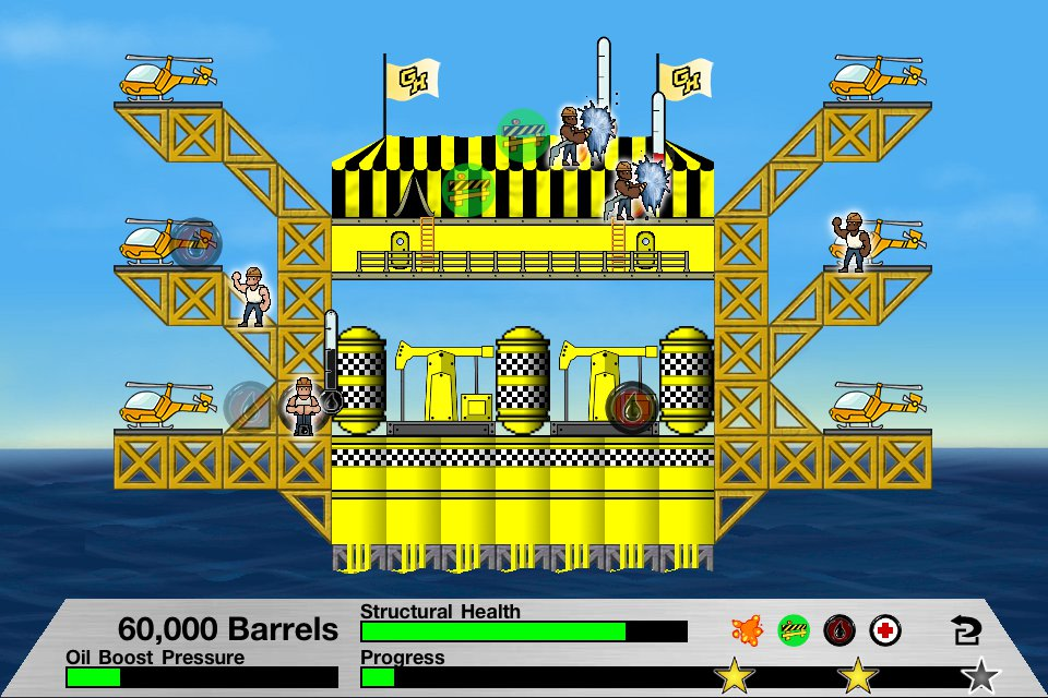 Rig Fire Classic Screenshot