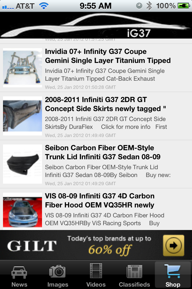 iG37 Screenshot