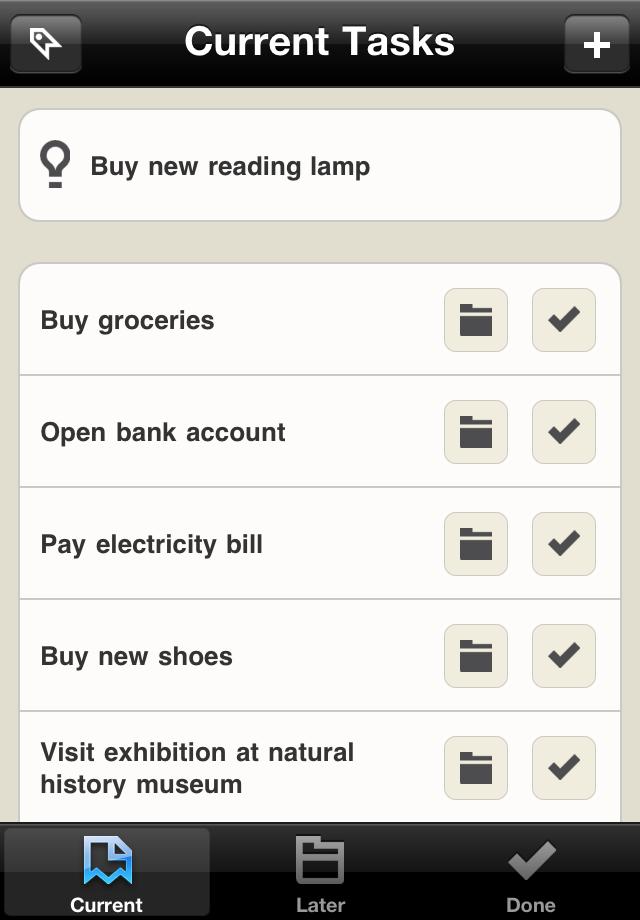 Taskdrift Screenshot