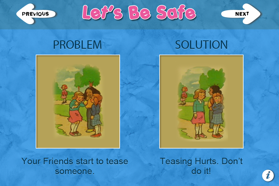 Let's Be Safe – A Safety Game for Kids Screenshot
