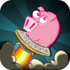 Unidentified Flying Oinkers for iPhone/iPod by Serendipitous Bits LLC icon