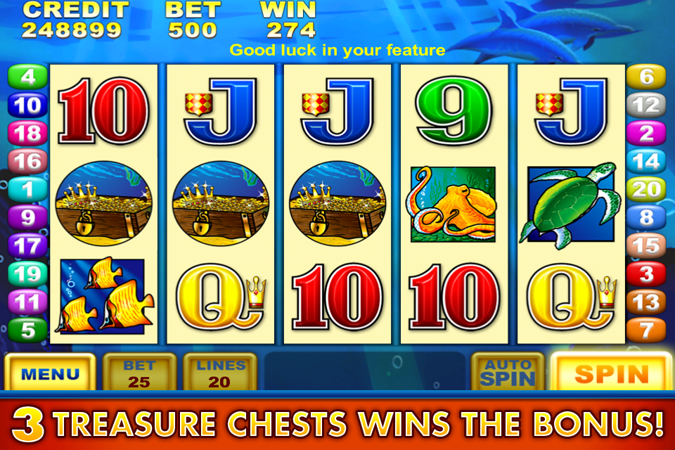Free slot machine dolphin treasure