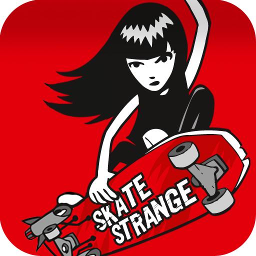 Emily the Strange - Skate Strange!