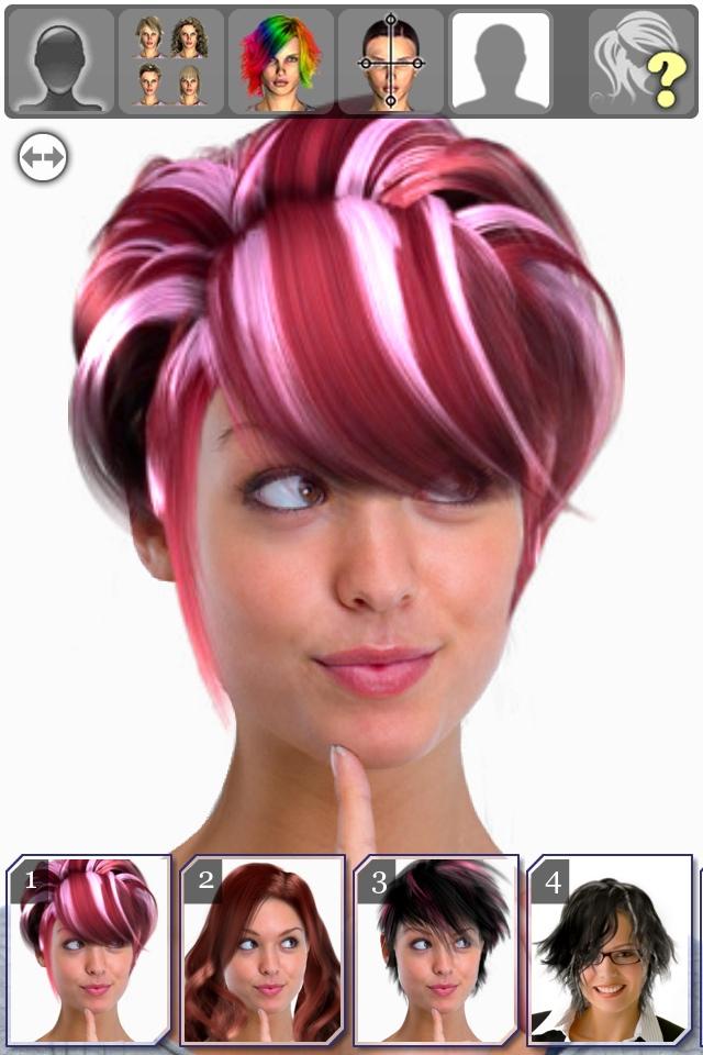 Brilliant Hairstyle Magic Mirror Change Your Look Lite Lifestyle Short Hairstyles Gunalazisus