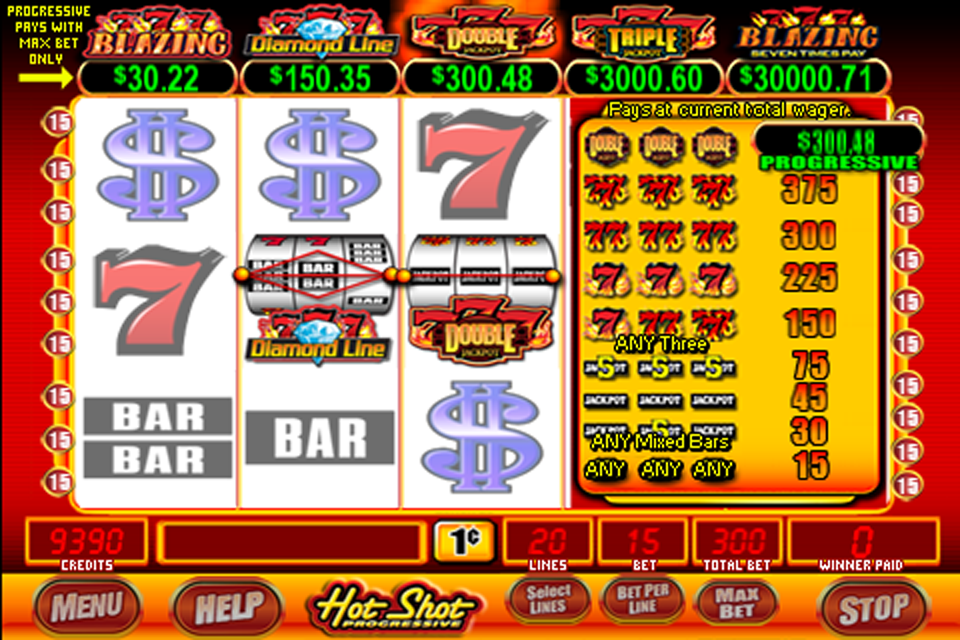 Hot Shot Progressive Slot Machine Download
