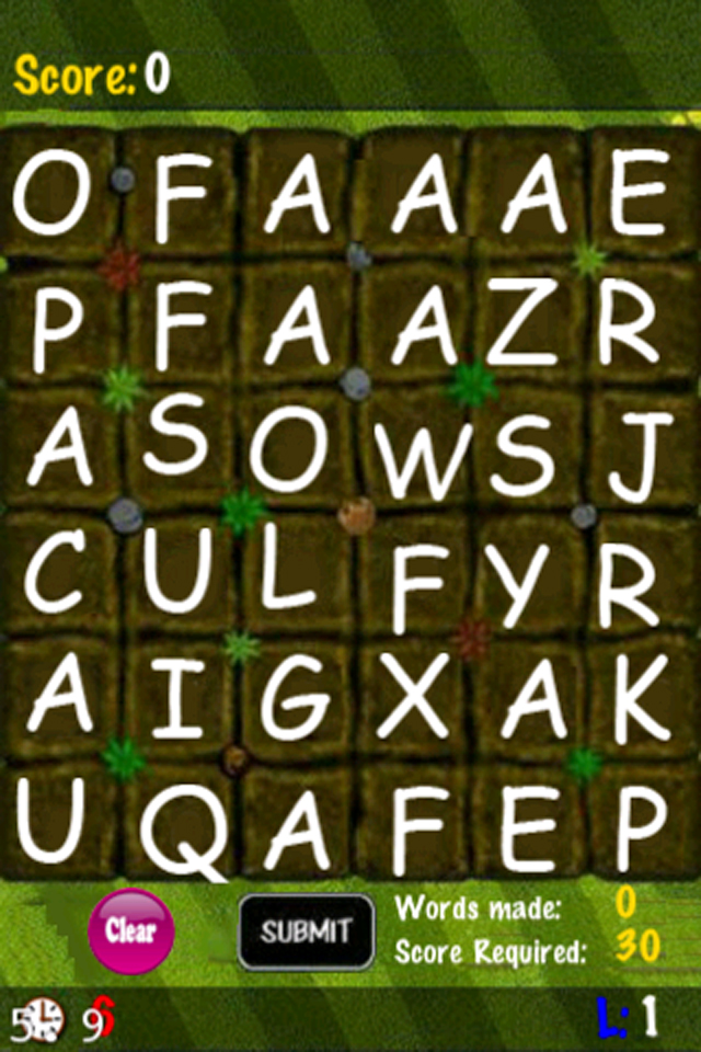 Word Mole Lite   iPhone Word games   by Cyborg Games
