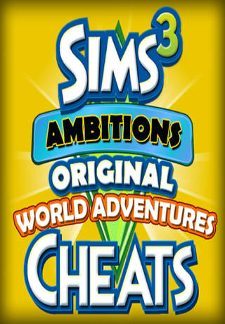 cheats for sims 3 ambitions original world adventures combo pack ios