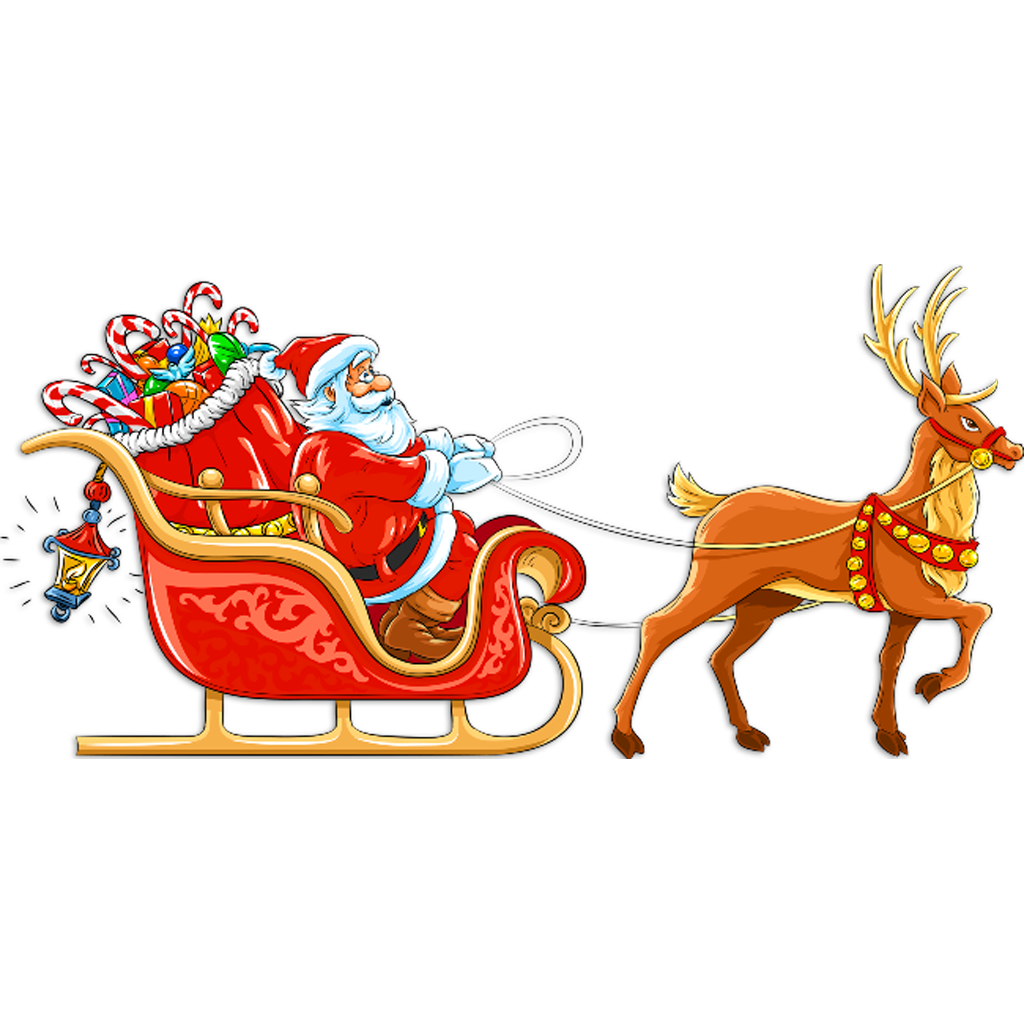 Santa Claus Sleigh Run on the App Store on iTunes