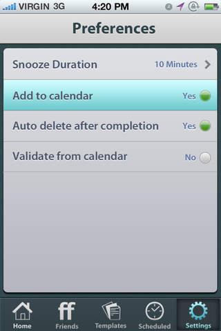 Future Scheduler Screenshot