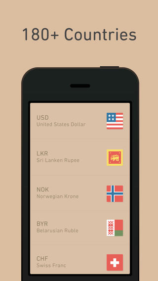 Currency - Simple Converter Screenshot