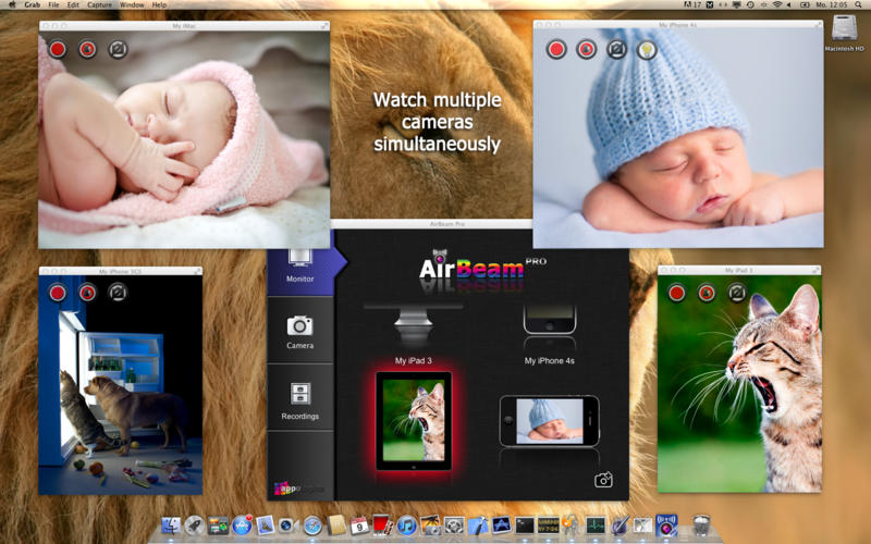 how to turn on camera on mac pro