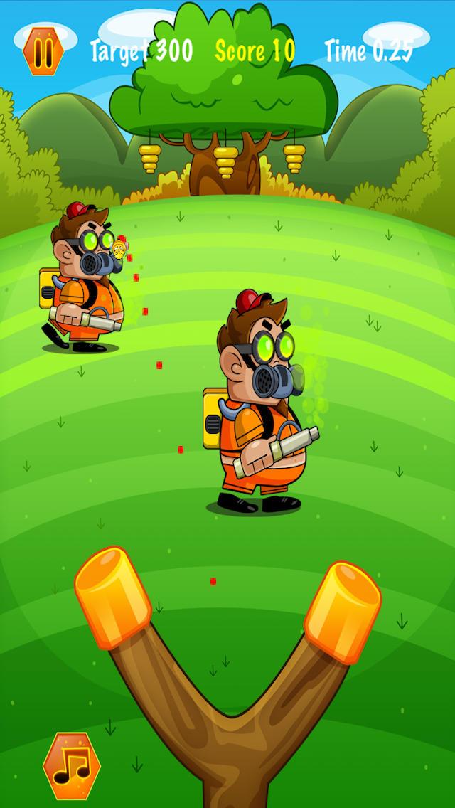 Honey Bee Physics Adventure Screenshot on iOS