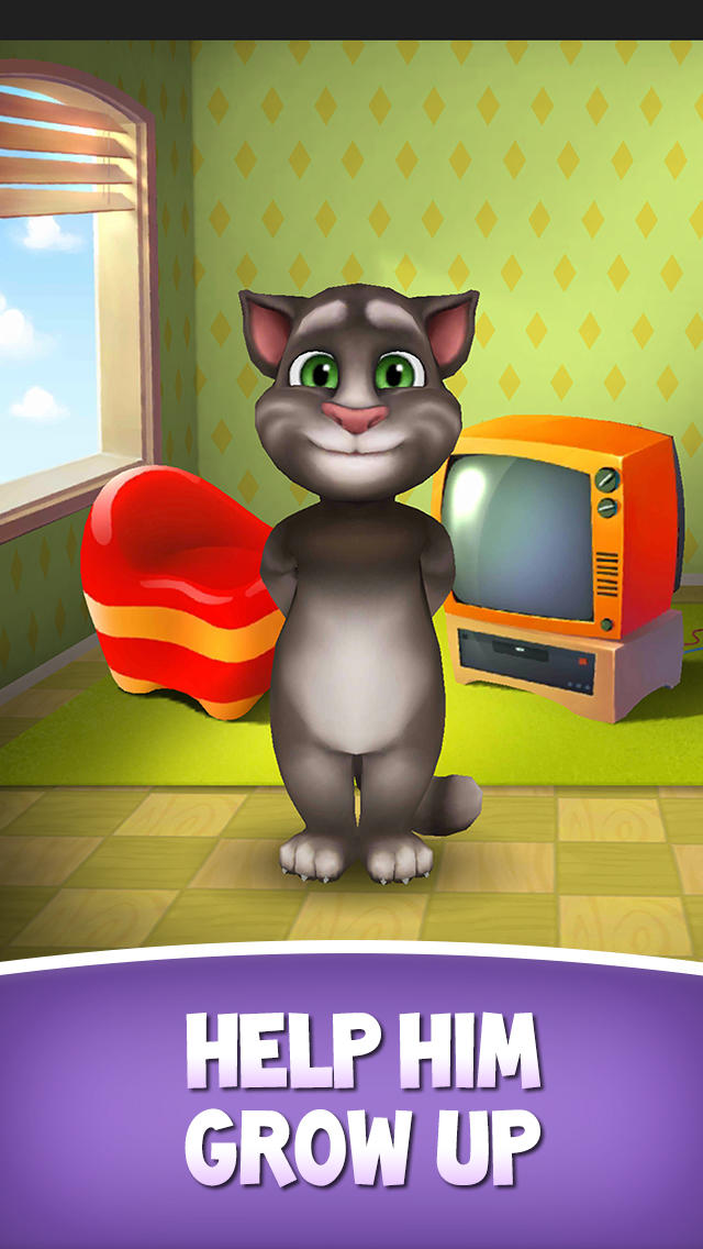 Play my talking tom game online my talking tom - My talking tom pictures ...