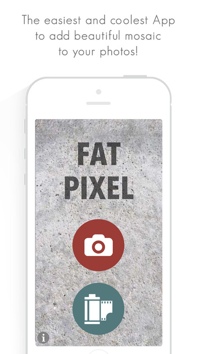 Fat Pixel - Beautiful Mosaic Screenshot on iOS