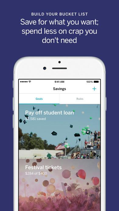 Qapital - Automate your savings Screenshot