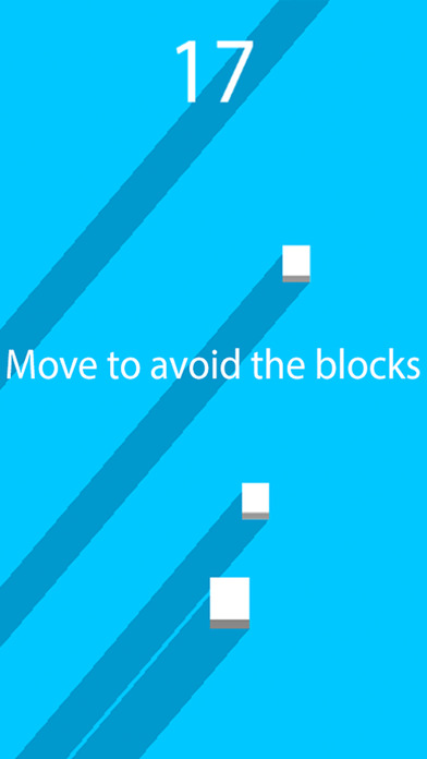Can You Live For 60 Seconds 2 (a fall down block dodge game) Screenshot on iOS