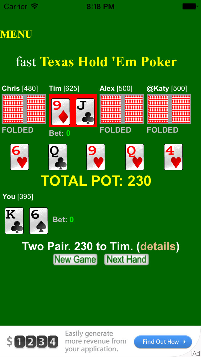 Poker texas holdem download italiano