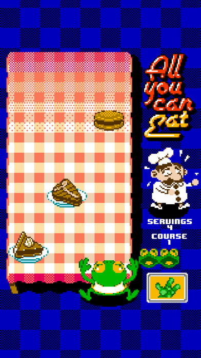 All You Can Eat: He Won't Stop Eating Screenshot on iOS