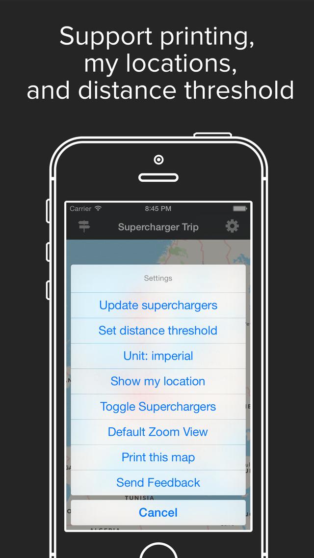 Ev Trip Planner >> App Shopper: Supercharger Map Road Trip Planner for Tesla EV Owners (Navigation)