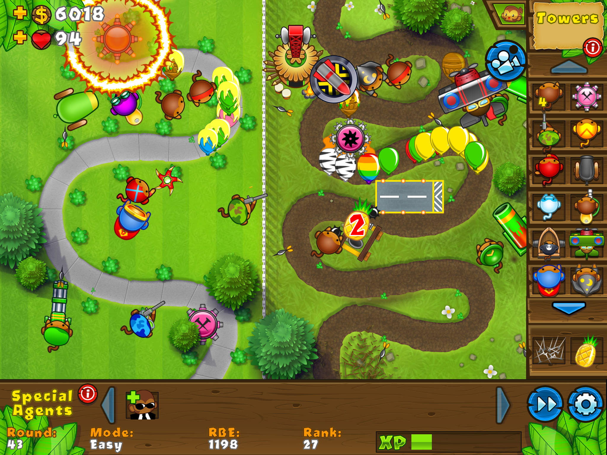 Bloons TD 5 HD screenshot-0