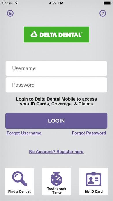 Delta Dental Mobile Screenshot