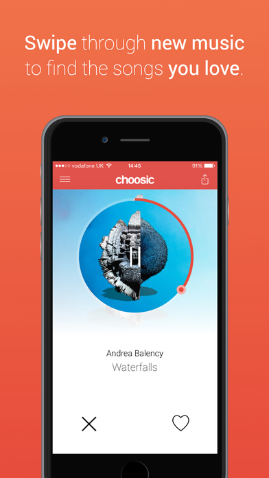 Choosic - Discover new music Screenshot