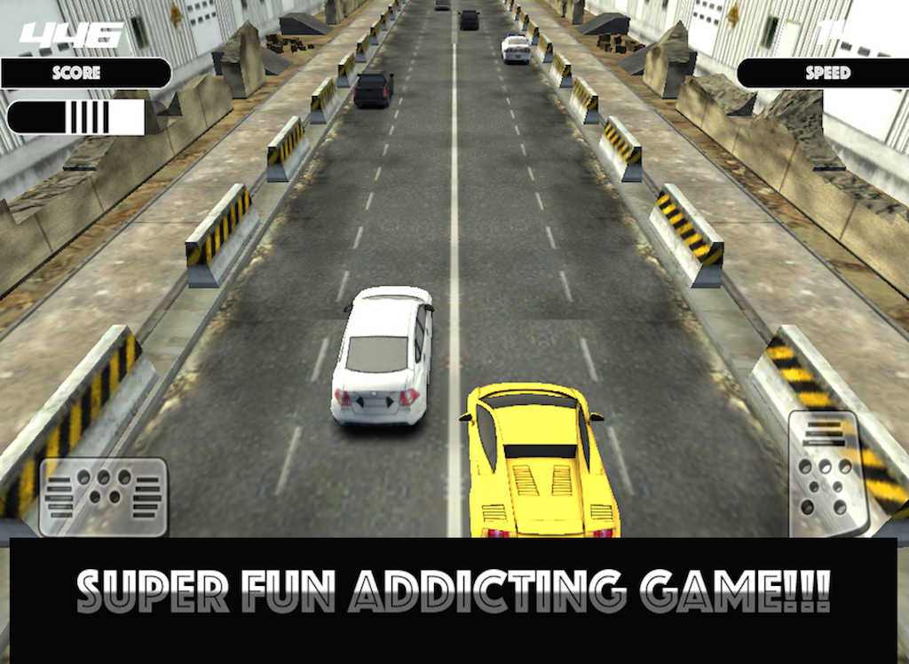 app shopper extreme car craze and chase 3d cool racing game for boys games. Black Bedroom Furniture Sets. Home Design Ideas