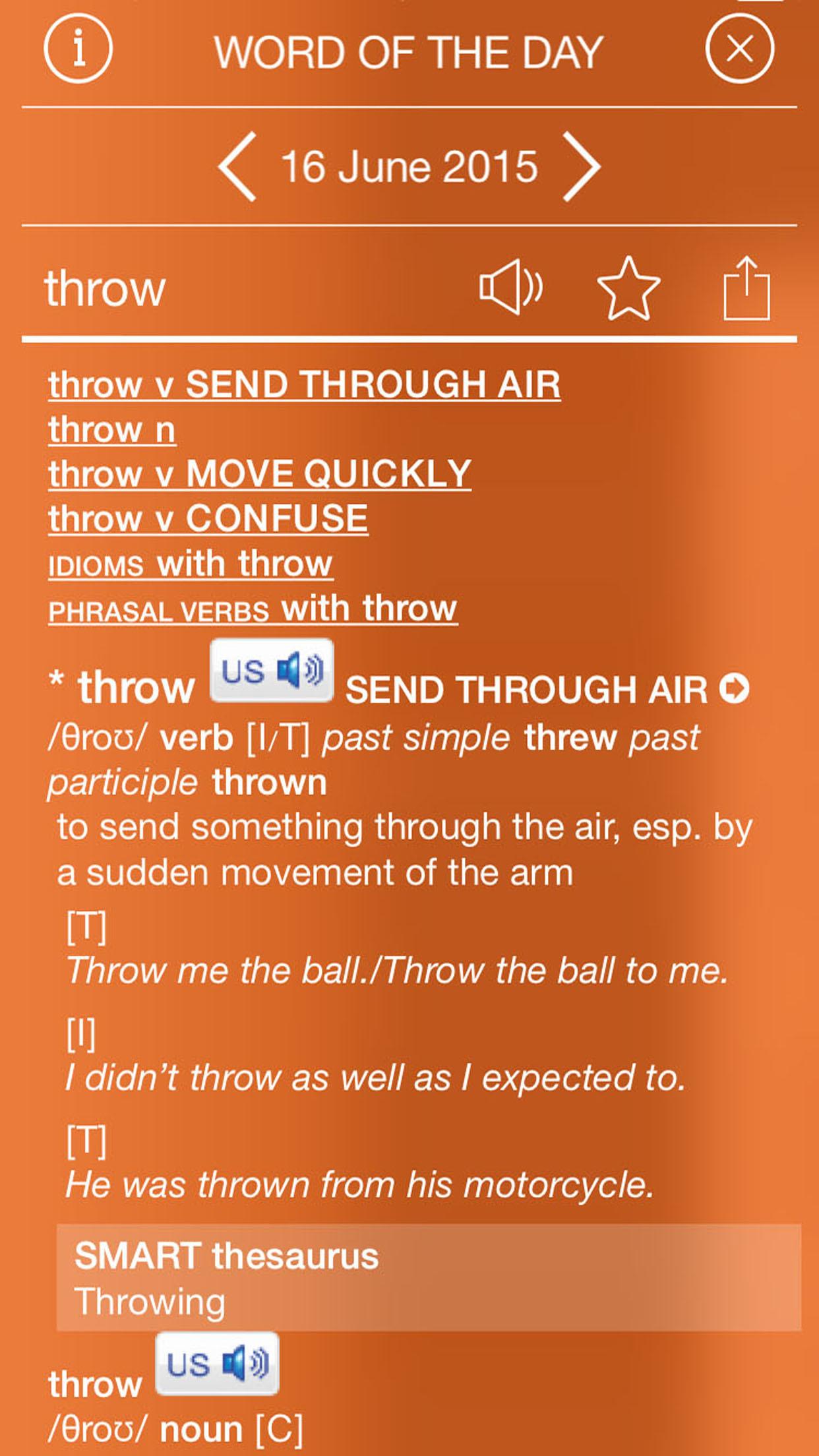 Audio Cambridge Dictionary of American English screenshot-3