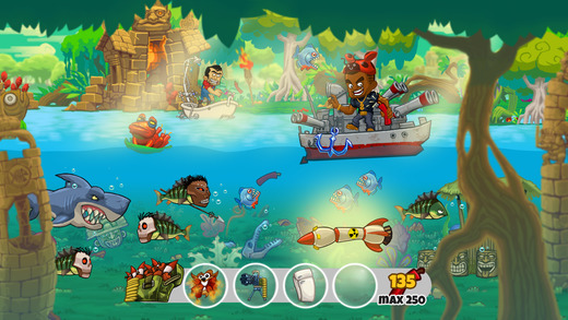 Dynamite Fishing World Games Screenshot