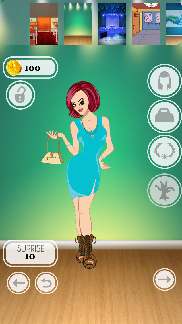 Teen Cover Girl Dress Up - cool celebrity style dressing game Screenshot on iOS