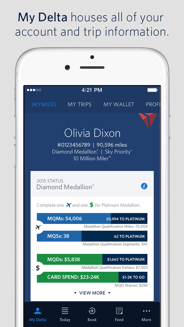 United Mileage Shopping >> App Shopper: Fly Delta (Travel)