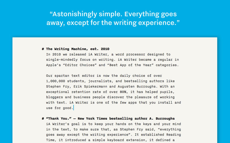 Ia Writer Pro 1 5 1 Professional Writing Suite Macos