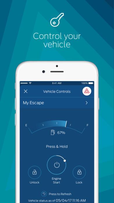 FordPass - Vehicle Controls, Park + More Screenshot