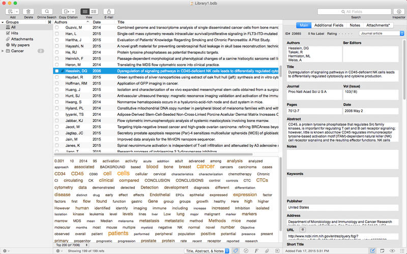 Bookends 13.2 Mac 破解版 Mac上优秀的文献书籍管理工具-爱情守望者