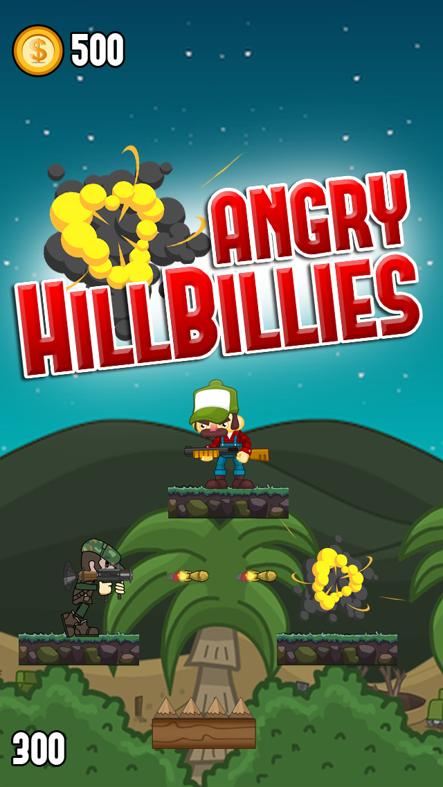 Angry Hillbillies – Hillbilly Country Folk vs. Army Soldiers Screenshot on iOS