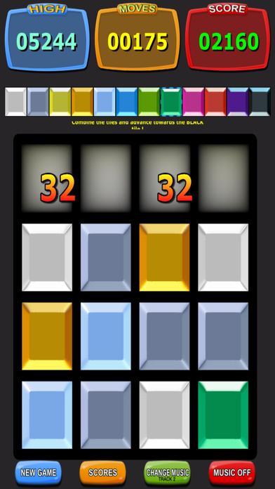 Colors 2048 Screenshot on iOS
