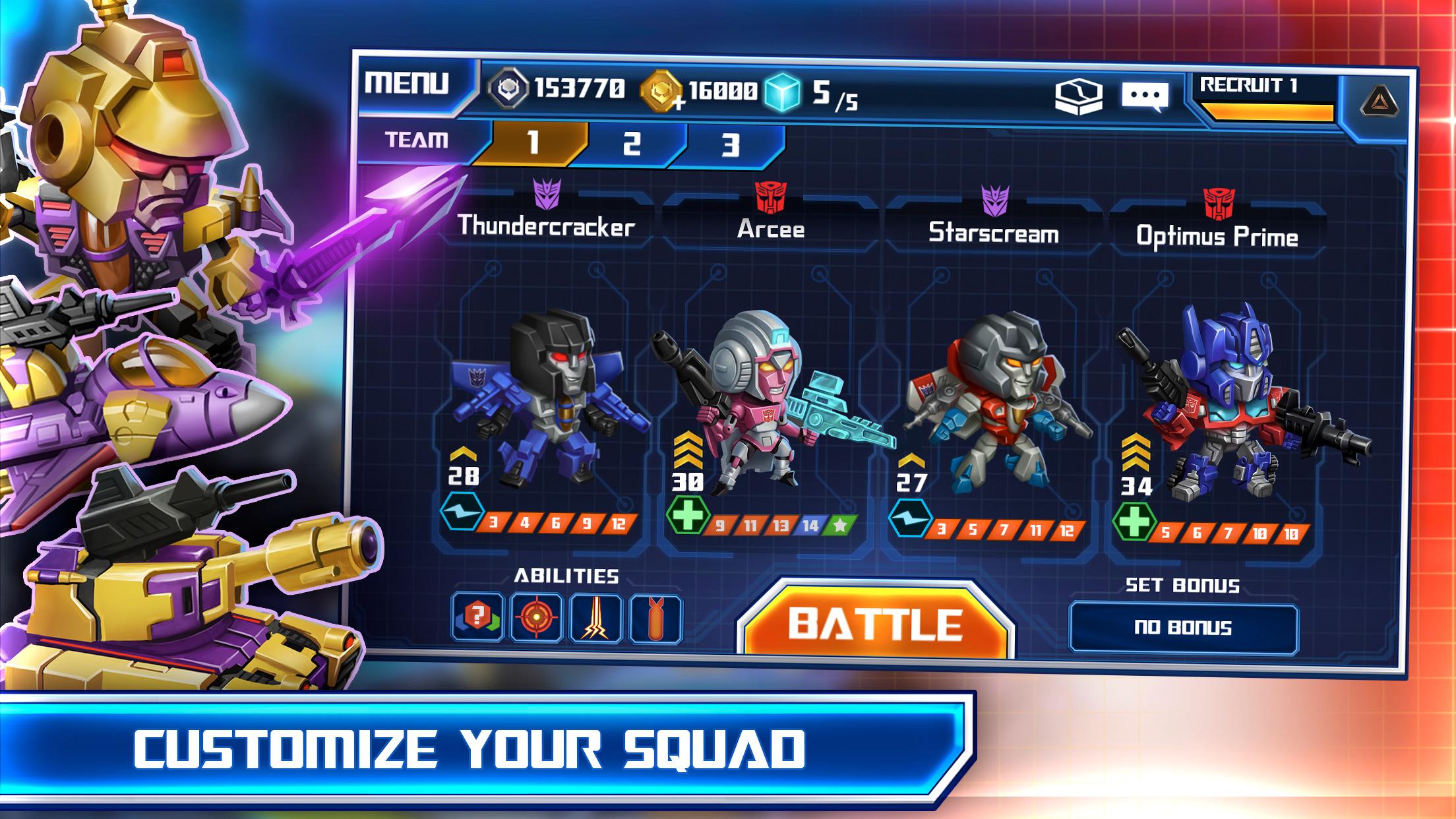 TRANSFORMERS: Battle Tactics screenshot-3