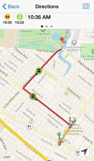 nola transit realtime data and directions for new orleans public transit system apppicker. Black Bedroom Furniture Sets. Home Design Ideas