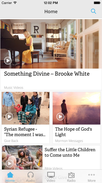 Mormon Channel Screenshot