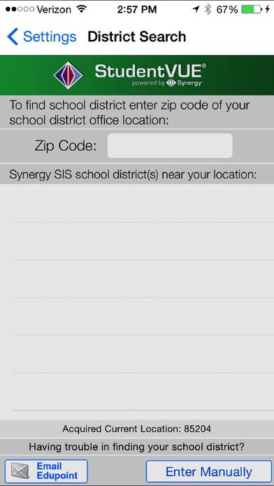 StudentVUE Screenshot