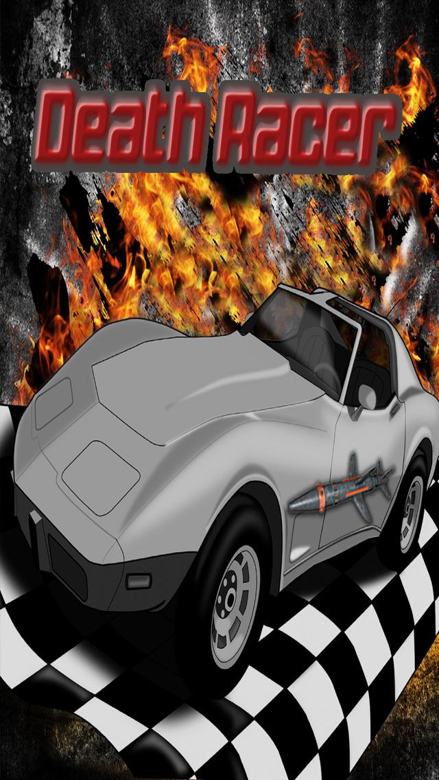 Death Racer - Racing Sprint Smash Screenshot on iOS