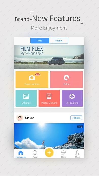 Camera360 - Selfie Photo Editor & Funny Filters Screenshot