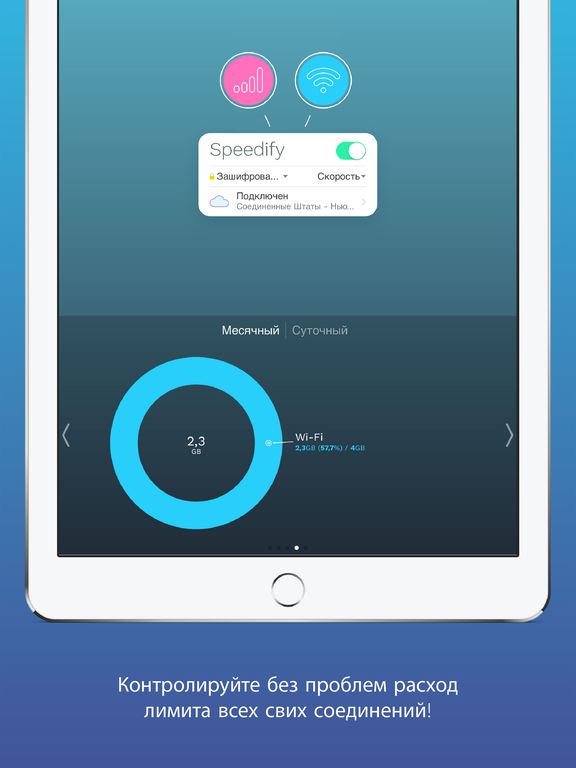 Speedify - Free Unlimited Secure VPN & Proxy Screenshot