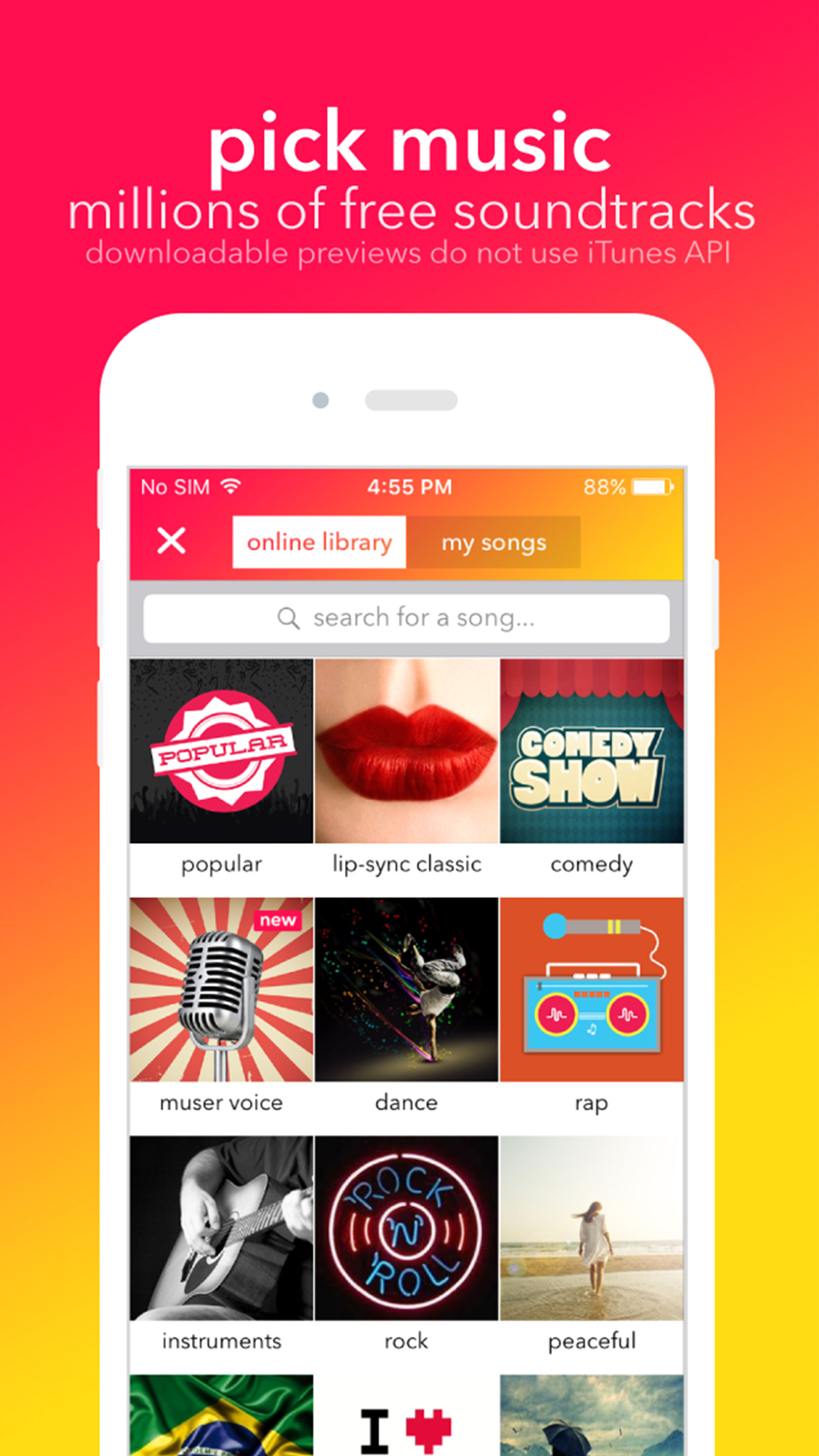 musical.ly - your video social network Screenshot