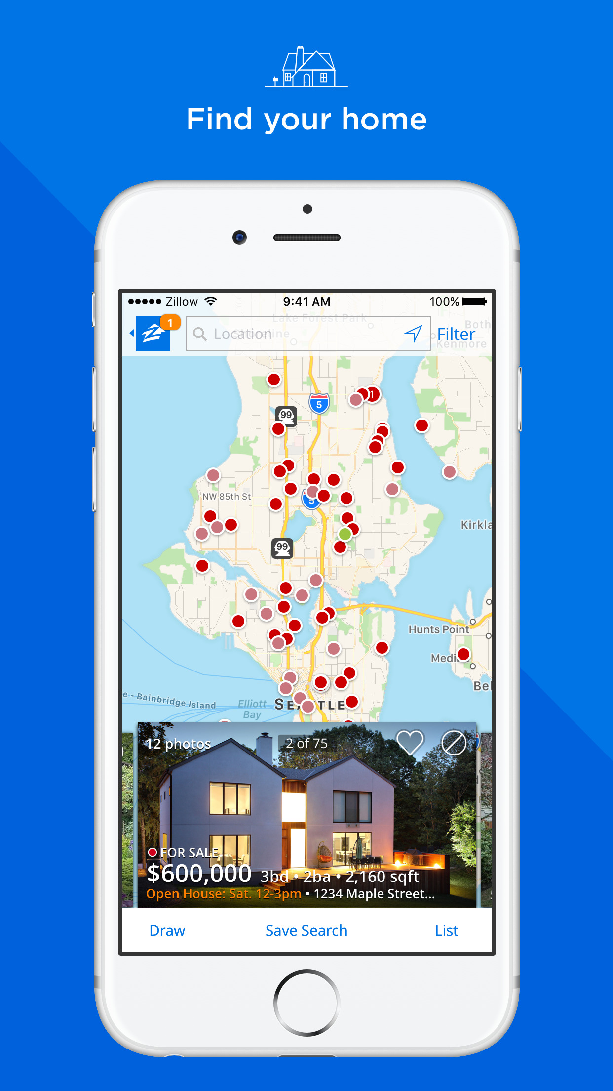 Zillow Real Estate - Homes for Sale & for Rent Screenshot