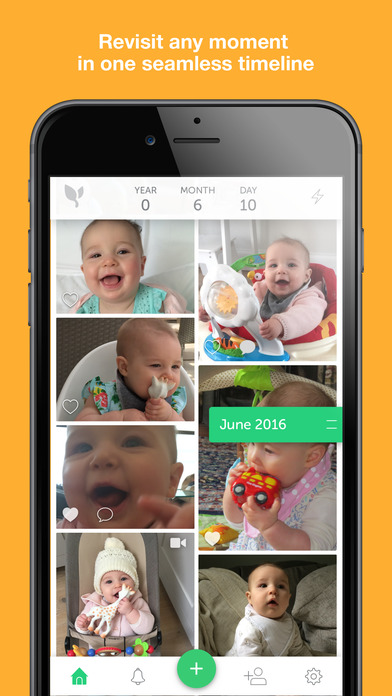Lifecake. The private place for families. Screenshot