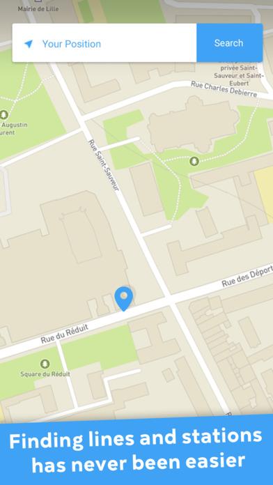 app shopper metro lille transpole offline subway maps travel. Black Bedroom Furniture Sets. Home Design Ideas