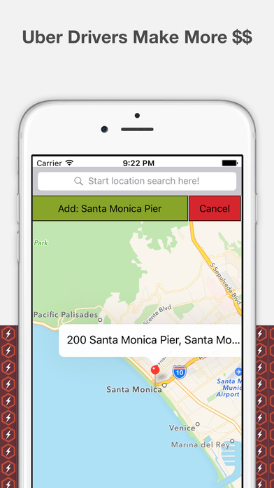Surge Partner-Surge Tracking for Rideshare Drivers Screenshots