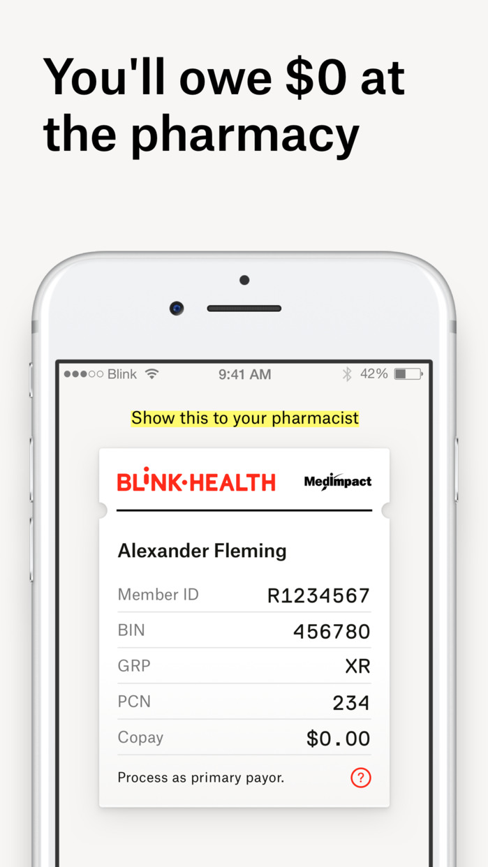 Blink Health Screenshot